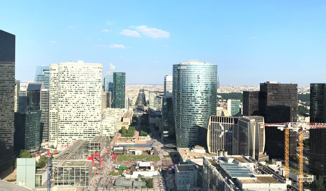 le toit de la defense