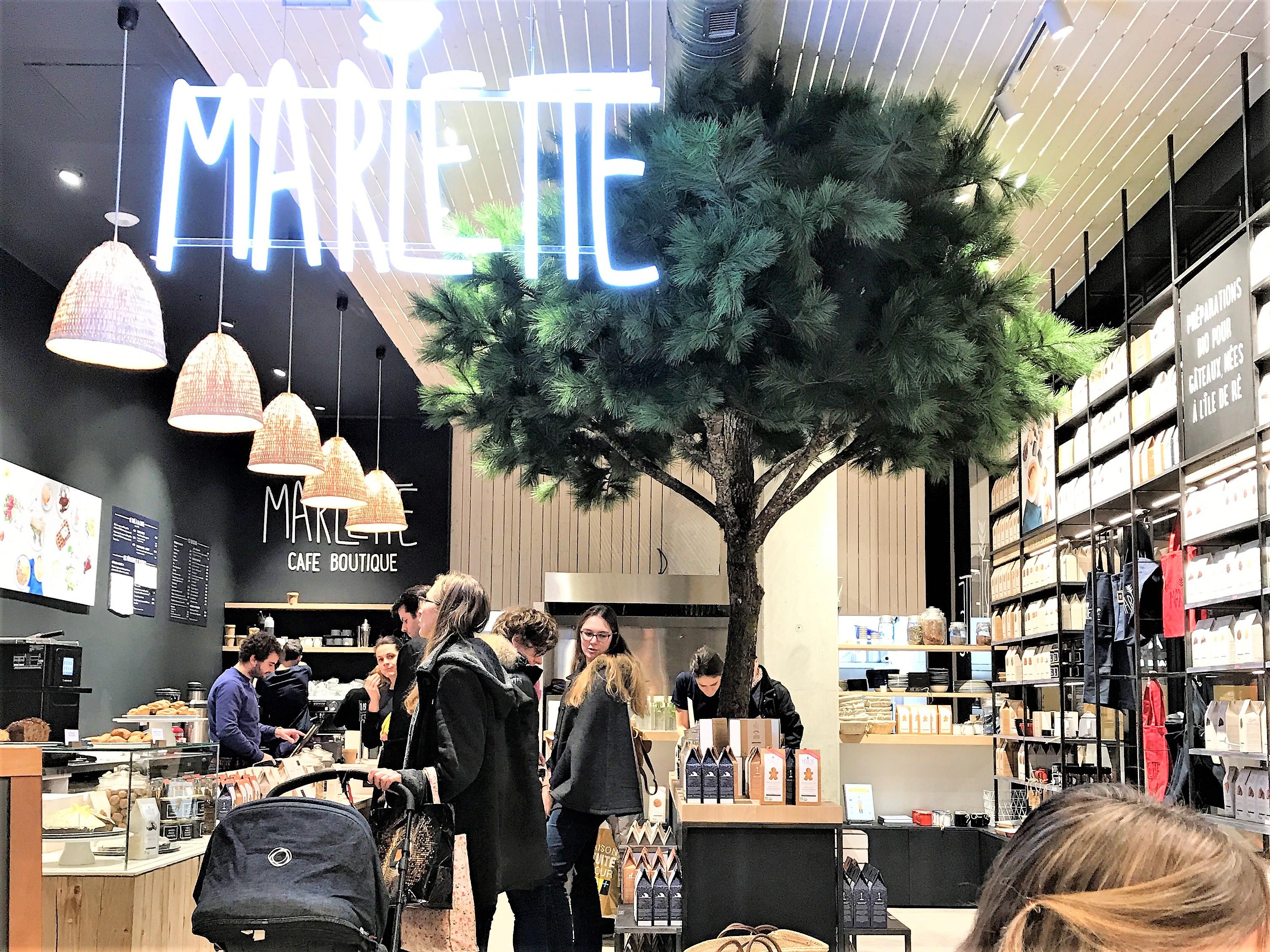 Marlette cafe Parly2