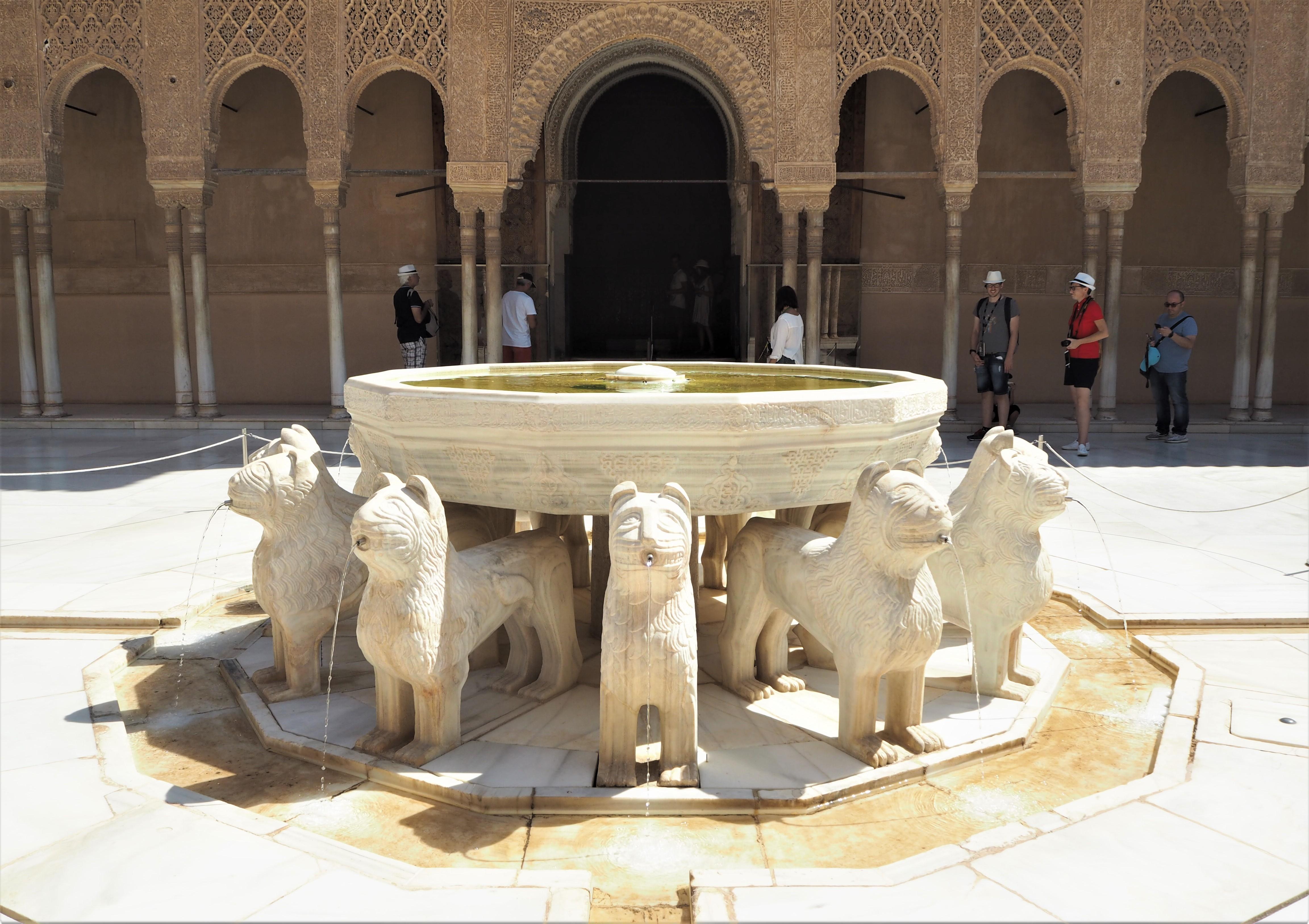 Alhambra grenade palais nasrides 2