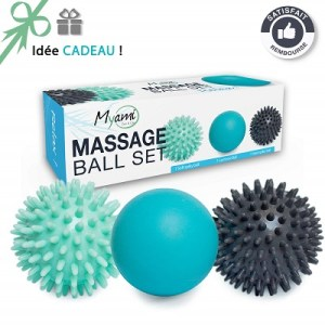 MYAMI – Set de balles de massage