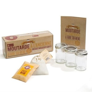 NATURE ET DECOUVERTES – Kit fabrication moutarde