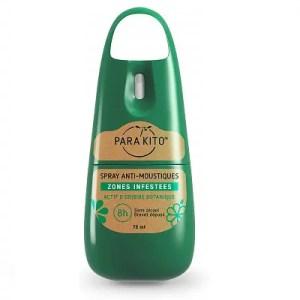 PARAKITO – Spray Anti-moustiques Zones infestées