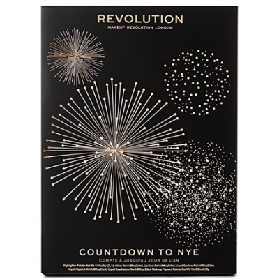 MAKEUP REVOLUTION Calendrier de l'avent 2018 Countdown to NYE 400x400