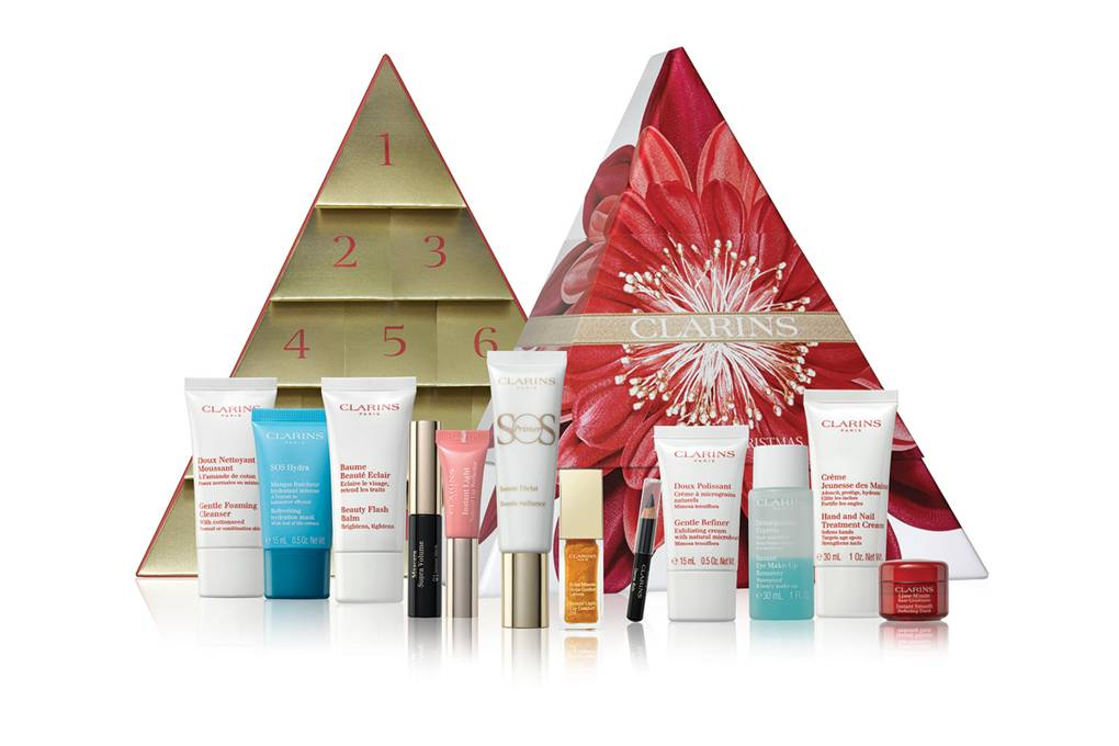 clarins calendrier avent noel femme 2018