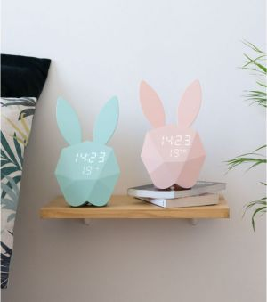 L AVANT GARDISTE – Cutty Clock – Réveil lapin intelligent