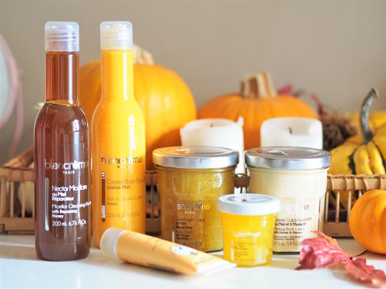 Couverture blancreme gamme miel amande