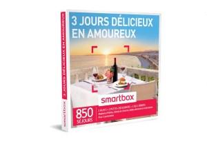 SMARTBOX – Coffret 3 jours délicieux en amoureux