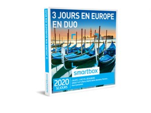 SMARTBOX – Coffret 3 jours en Europe en duo