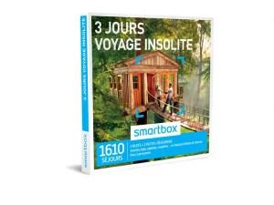 SMARTBOX – 3 jours voyage insolite
