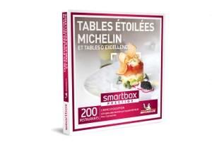 SMARTBOX – Coffret Tables étoilées Michelin et tables d'excellence