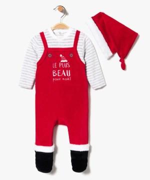 GEMO – Pyjama Lutin Noël enfant