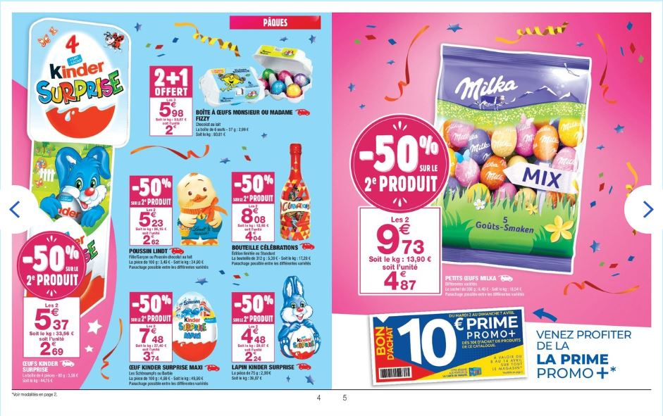 CARREFOUR promos avril 2019