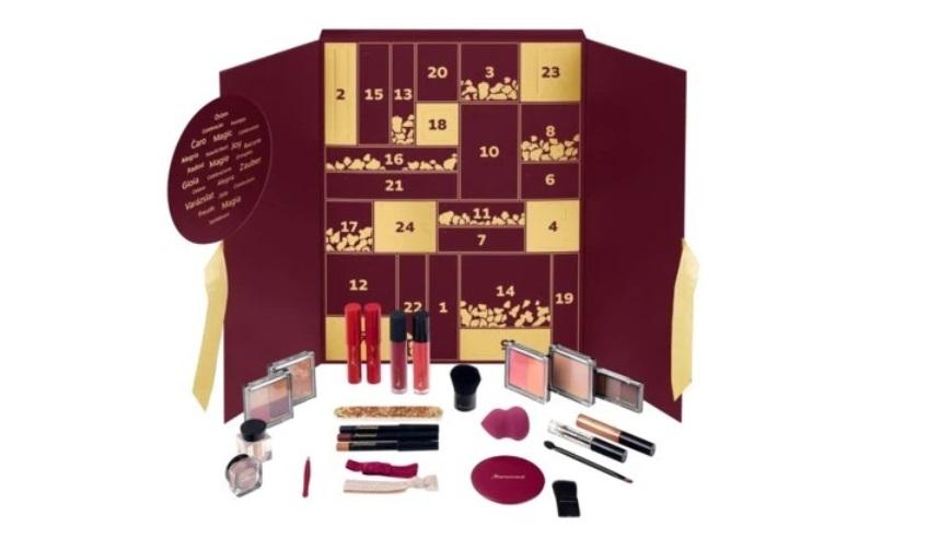 Calendrier de l'avent maquillage MARIONNAUD 2019 long