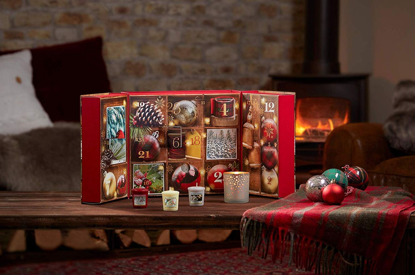 calendrier de l'avent bougies 2019 Yankee Candle