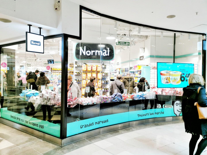 magasin petits prix NORMAL