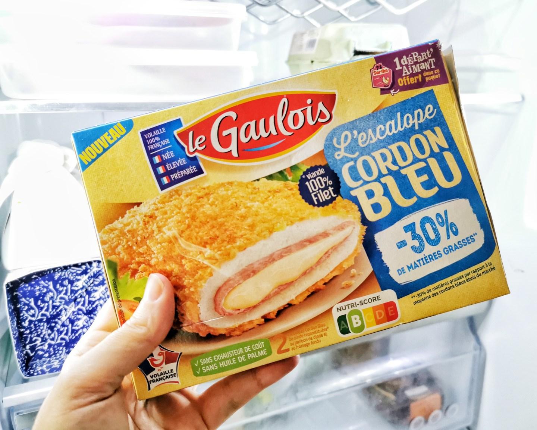 Cordon Bleu Le Gaulois - Moins 30% matieres grasses