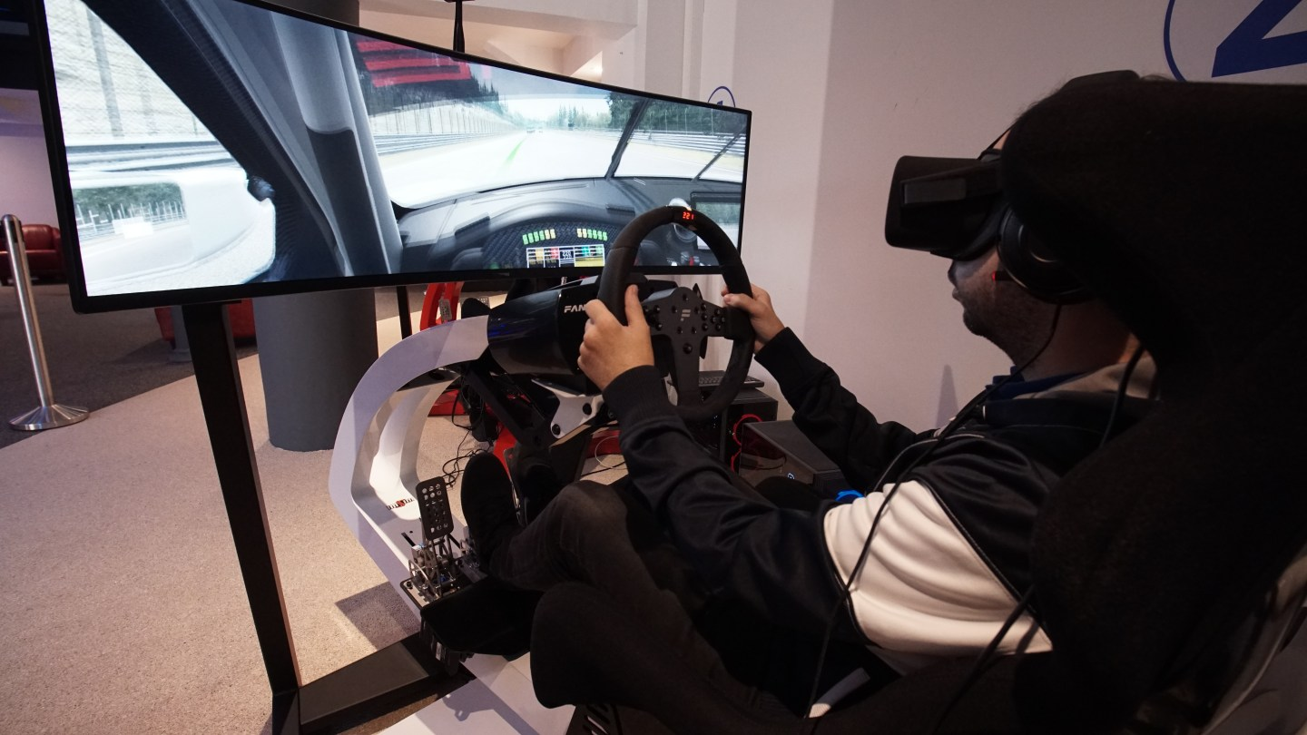 VirtuelCenterRacingVR