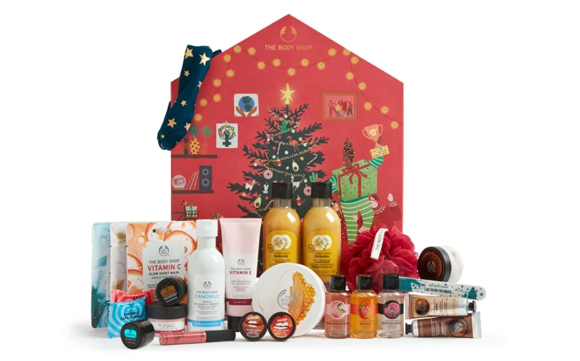 calendrier de l'avent THE BODY SHOP CLASSIC