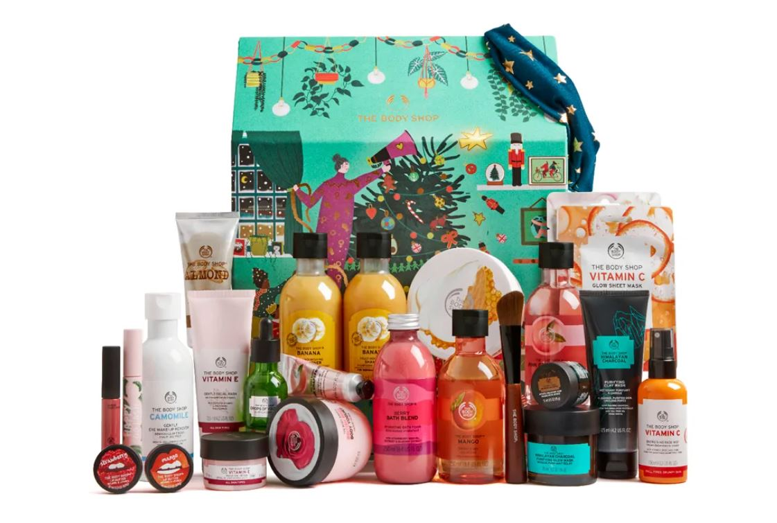 calendrier the body shop 2020 DELUXE