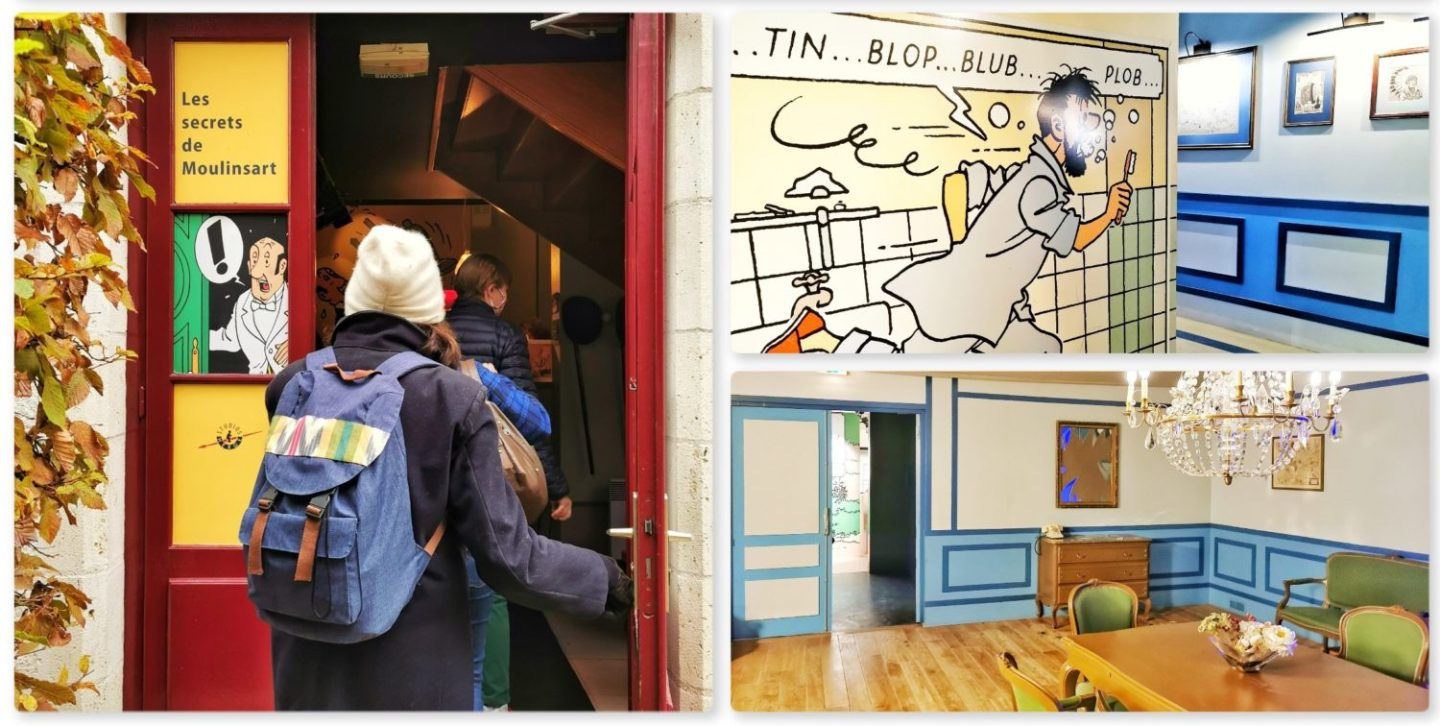BD Tintin musee cheverny