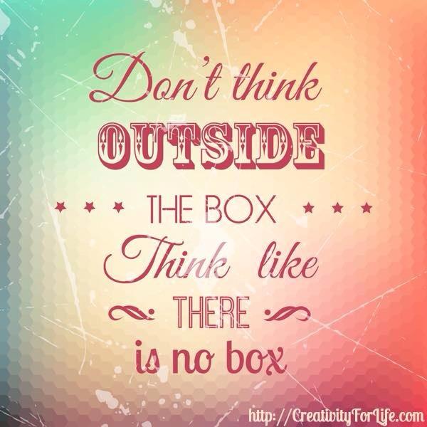 ¿Avanzar ante tu realidad, salir de la caja? (1/3)