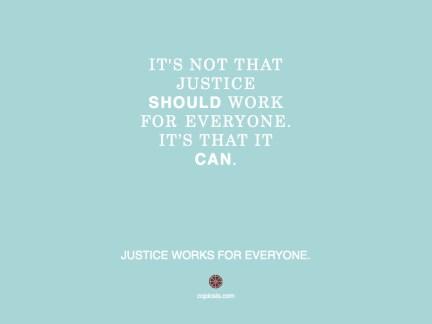 Justice should.001