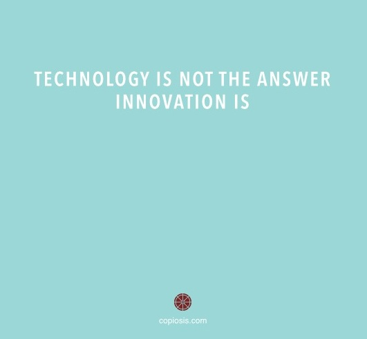 technology not the answer