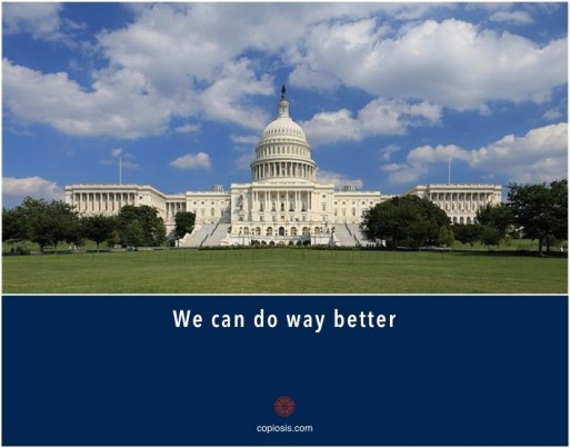 government - we can do way better