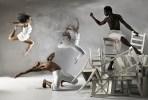 Laura Sharp, Victor Talledos, Erin Huestis and Jeffrey Van Sciver of Copious Dance Theater. Photo by Hemali Zaveri