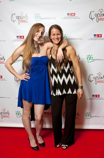 Copious Dance Theater 2014 Benefit Soirée Erin Huestis and Laura Sharp