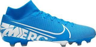 Blue Nike Mercurial Boot
