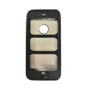 360 Full Rubber Iphone Case Cover For Iphone 6 Black