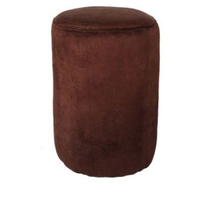 Brown Centre/side Stool- Round