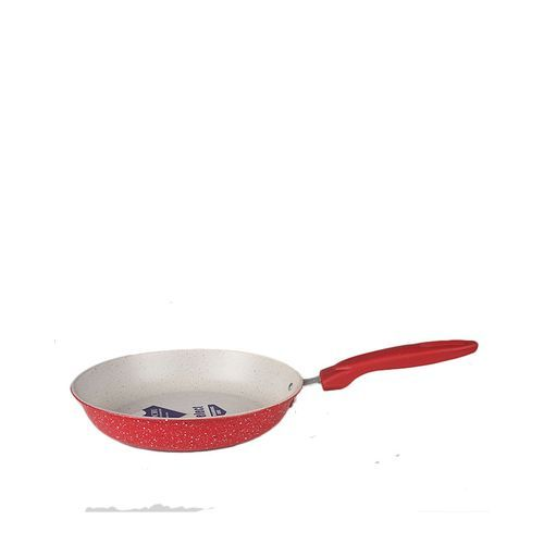 Nonstick Frying Pan With Red Handle