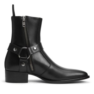 Weston Black Leather Boot