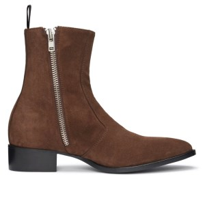 Tobacco Brown Suede Luca Boot