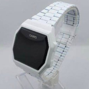 Touch Screen Wristwatch Wooden Design- Casio