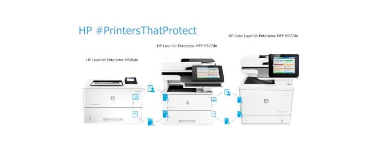 HP Announces World's Most Secure Enterprise Level Printers