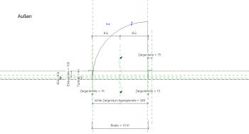 2019 02 08 14h31 00 - Holztür, 1Fl., Eckzarge, Glasausschnitt