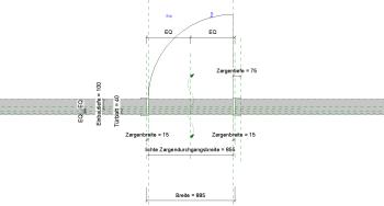 2019 02 08 14h53 23 - Holztür, 1Fl., Umfassungszarge