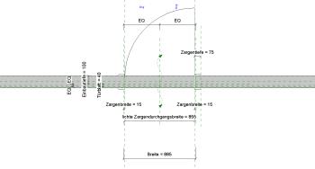 2019 02 08 14h59 19 - Holztür, 1Fl., Umfassungszarge, Glasrahmen
