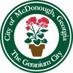 City of McDonough Georgia, The Geranium City