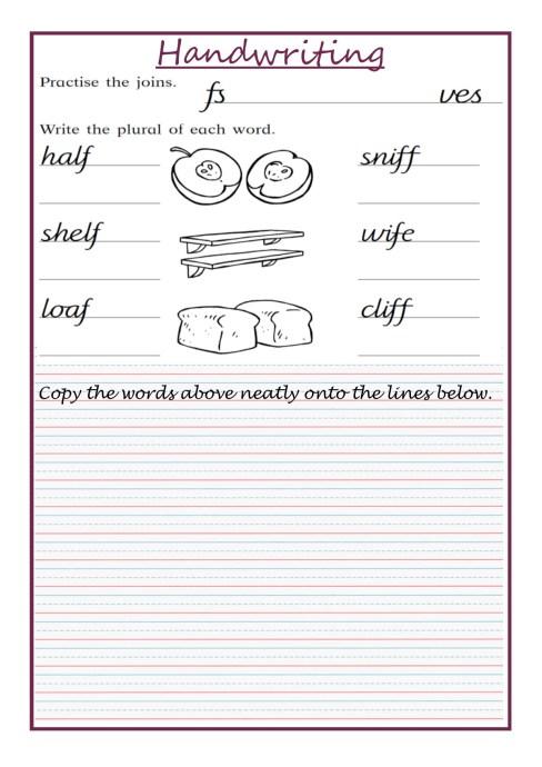 Handwriting Week 5