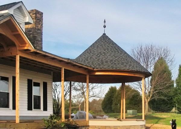 Cbd' Massey Turret Roof Cap
