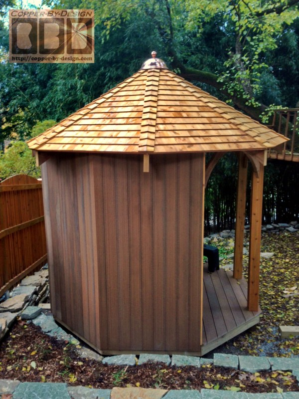 Cbd' Functional Decorative Custom Turret & Gazebo Roof
