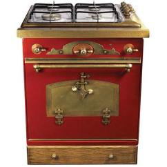 Vintage Kitchen Stoves Counter Lamps Stove With Dishwasher Retro Style Oven