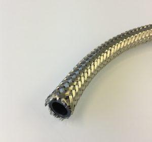 Shielding braid with nylon former