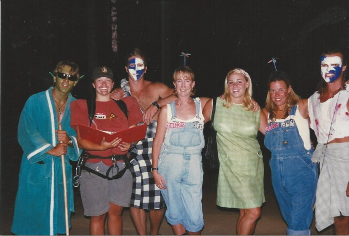 Staff 1996 costumes partynight