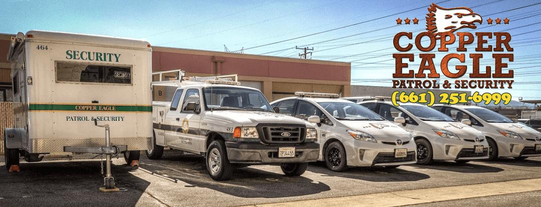 Improving your home security! Copper Eagle Patrol Santa Clarita