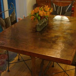 Kitchen Table Top Rolling Cabinet Imagine Copper 3814